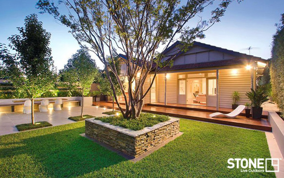 Landscaping ideas melbourne brick for Garden designs melbourne